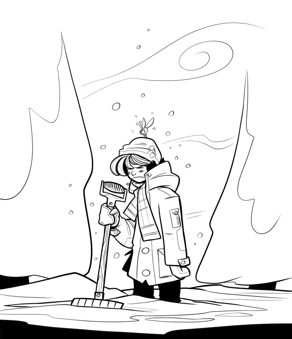 Snow day interim